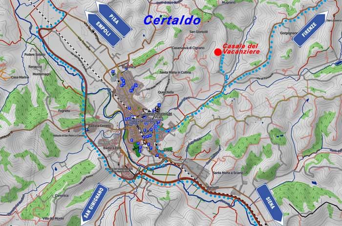 Where we are Certaldo