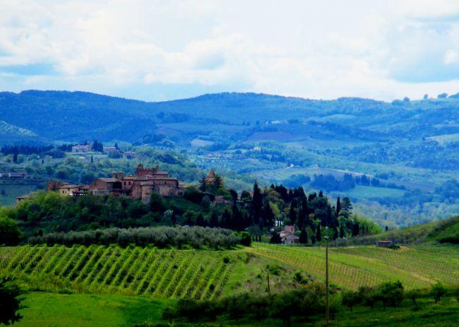 The area - Tuscany