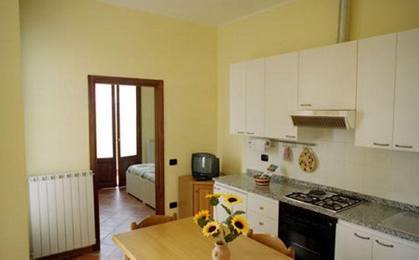 Elce - Appartamento con terrazza - sala e camera